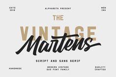 Martens Script by Al