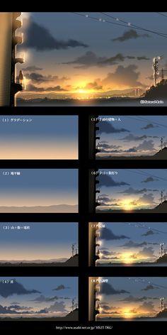 ▼背景メイキング集(オリジナル) [2]