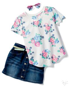 Pin by gabby on girly girl Girls Summer Outfits, Cute Girl Outfits, Girly Outfits, Dance Outfits, Cool Outfits, Summer Girls, Dress Outfits, Tween Fashion, Fashion Outfits