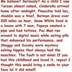 Childhood role models