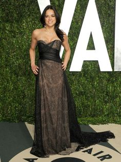 Michelle Rodriguez - The 2012 Vanity Fair Oscar Party 2