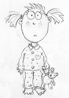 Why it might be cleverer to draw boys than girls! By children's book illustrator, Lynne Chapman