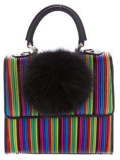 799437068620 Les Petits Joueurs Rainbow Mini Alex Bunny Bag w  Tags Bunny Bags