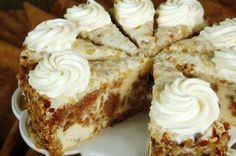 Carrot Cake Cheesecake  (Cheesecake Factory Copycat)