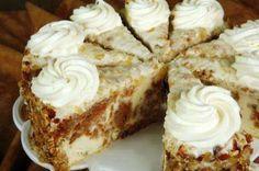 Carrot Cake Cheesecake  (Cheesecake Factory Copycat)