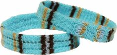 Blue couple bracelets unisex accessories sporty by Crochetedbride