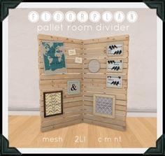 floorplan. pallet room divider [ boxed ]