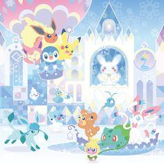 Main Art Christmas Pokemon 2016