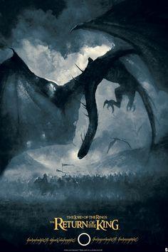 New 'The Lord Of The Rings' & 'The Hobbit' Prints from Bottleneck Gallery Legolas, Gandalf, Aragorn, Jrr Tolkien, Movie Poster Art, Film Posters, 3d Poster, High Fantasy, Fantasy Art