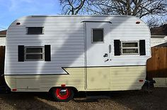 1969 Trailblazer Canned Ham Vintage Camper Travel Trailer 60's