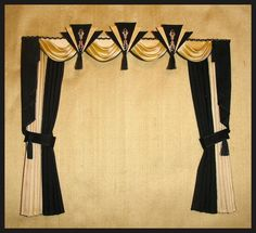 SWAGS & TAILS CURTAINS - SIMPLY SILK MINIATURES so love this