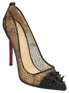 937883f23064 Christian Louboutin Black Picks   Co. Potpourri 120mm Patent Leather Heels  (85370) Pumps Size US 12