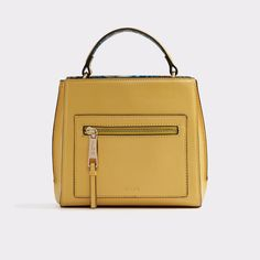Astoille Sophisticated, structured and refined, this top-handle satchel is the ultimate accent to every OOTD. Features gold hardware and an optional crossbody strap for hands-free wear.