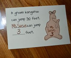Katy No POcket - From The Hive: Kk kangaroo day -preschool style