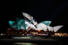 Sydney Opera House Vivid 2012 by writtenlight01, via Flickr
