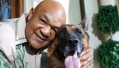 George Foreman & his GSD