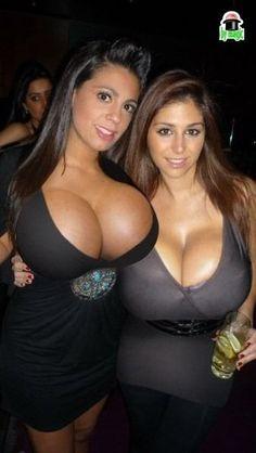 Double trouble! #Inked #Inkedmag #boob #big #women #responsibility #double #trouble