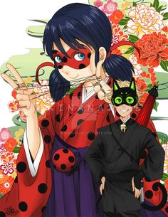 Miraculous Ladybug Marinette by dokinana.deviantart.com on @DeviantArt