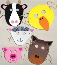 90 Best Animal Masks For Kids Images Animal Masks For Kids