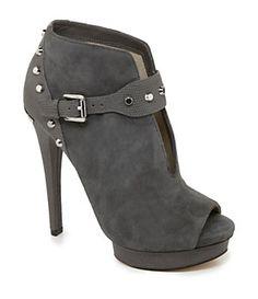MICHAEL Michael Kors Ailee Peep-Toe Booties...Loooove! Gotta have them NOW!