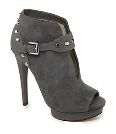 MICHAEL Michael Kors Ailee Peep-Toe Booties...Loooove! Gotta have them NOW!