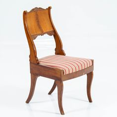 Tuoli, biedermeier, etiketti, Venäjä.  Chair, biedermeier, etiquette, Russia. Etiquette, Russia, Accent Chairs, Dining Chairs, Furniture, Home Decor, Upholstered Chairs, Decoration Home, Room Decor