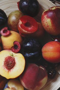 The Surprising Benefits Of Stone Fruits | Free People Blog #freepeople >i didn't know cherries have melatonin in them!