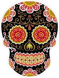 Day of the Dead Decal Rockabilly Rock Vintage Sugar Skull Sticker #20 In Touch http://www.amazon.com/dp/B0099S559U/ref=cm_sw_r_pi_dp_Qccgvb12EJGKJ