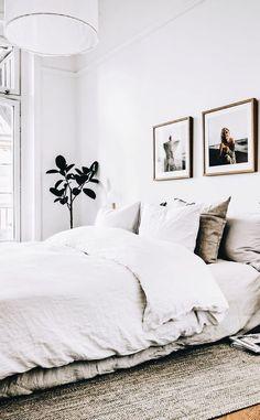 ZEN ROOM: ideas for a zen bedroom 21 ideas to my . ZEN ROOM: ideas for a Zen bedroom 21 ideas to make the Zen bedroom Cozy Bedroom, White Bedroom, Home Decor Bedroom, Modern Bedroom, Bedroom Furniture, Master Bedroom, Bedroom Bed, Scandinavian Bedroom, Scandinavian Style