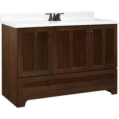 Style Selections Cocoa Liberton Transitional Bath Vanity Cocoa Liberton Transitional Bath Vanity Shaker-influence doors with a cocoa Bathroom Vanity Tops, Bathroom Renos, Bath Vanities, Bathrooms, Bathroom Ideas, Bath Ideas, Garage Furniture, Pull Out Drawers, Shaker Style