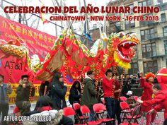 CELEBRACION DEL AÑO NUEVO LUNAR CHINO 2018, EN CHINATOWN, NEW YORK, . FOTO POR ARTUR CORAL-FOLLECO (16 FEB 2018)