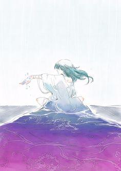 she who died Art Anime, Anime Art Girl, Manga Art, Manga Anime, Character Illustration, Illustration Art, Wallpaper Animes, Anime People, Anime Scenery