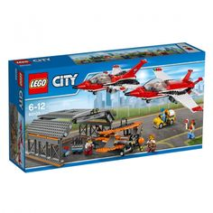 """Toys""""R""""Us LEGO City sets give kids the opportunity to build their very own mini city. LEGO city structures include vehicles, buildings, figures, and more. Lego Disney Princess, Lego City Police, Lego Creator, Lego Sets, Lego Junior, Lego City Airport, Pilot Car, Lego Age, Le Hangar"""