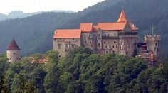 The Pernštejn castle (Czech Republic)