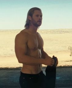 Chris Hemsworth in Thor. I think my heart just stopped.