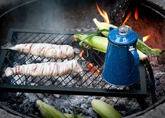 Living Well:  23 Secrets To Cooking on a Campfire