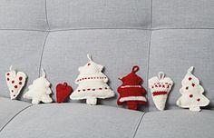 Häkel- und Strickanleitung für Winter- und Weihnachtsanhänger
