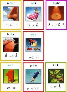 letterkaarten veilig leren lezen - Google zoeken