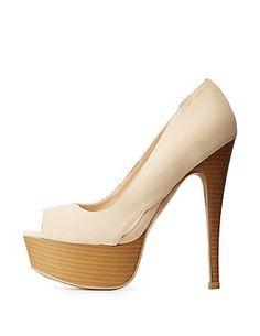 889af4451aac5 ... Sandals. See more. Qupid Platform Peep Toe Pumps Peep Toe Pumps