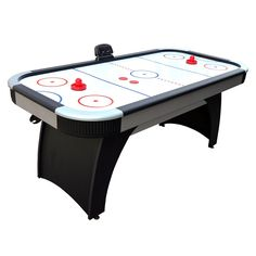 Silverstreak 5-Foot Air Hockey Game Table for Family Game Rooms with Electronic Scoring