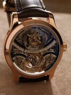 Jaeger LeCoultre Gyrotourbillon. Perpetual Calendar watch