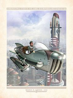 Showcase of Dieselpunk Artworks