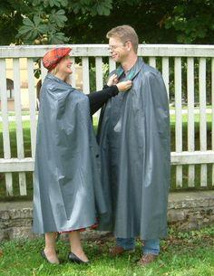 Capes, Rain Bonnet, Rain Cape, Rubber Raincoats, Rain Gear, Pvc Vinyl, Women Wear, Sari, Couple