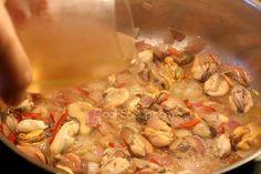 Μυδοπίλαφο - παρασκευή Lent, Pasta Salad, Cakes, Chicken, Cooking, Ethnic Recipes, Food, Crab Pasta Salad, Cucina