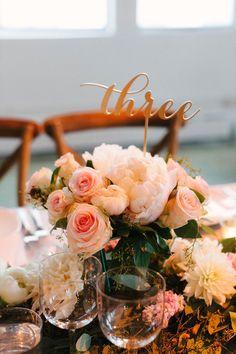 featured photographer: Judy Pak; wedding reception centerpiece idea