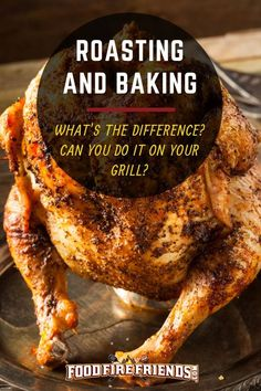 """You will often hear us say: """"You can cook anything outdoors, that you would in your kitchen.' And yes, this includes roasting and baking, two techniques you can easily recreate on most grills. And here's how in our guide. Grilling Tips, Grilling Recipes, Bbq Pitmasters, Smoker Cooking, Cooking Pork, Smoking Recipes, Rib Recipes, Chicken Recipes, Barbecue Recipes"""
