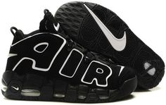 super popular d68f5 adf91 Nike Air More Uptempo Scottie Pippen Shoes Black Pumas Shoes, Nike Shoes,  Shoes Uk