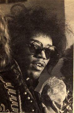RIP Jimi Hendrix 9/18/70- Celebrating Jimi Hendrix Eyewear |