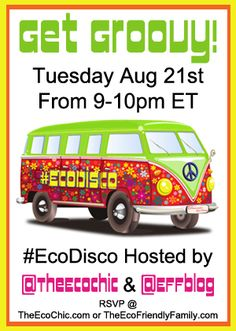 Get Groovy at the #EcoDisco Twitter Party 8/21