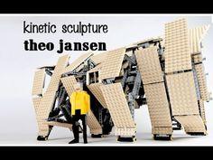 Theo Jansen cool walking Mechanism ✔ - YouTube